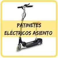 patinetes eléctricos con sillín