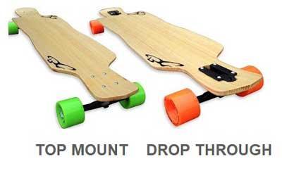 top mount vs drop through